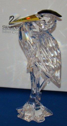 20: SWAROVSKI HERON FIGURINE