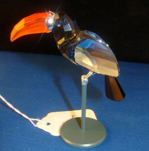 7: SWAROVSKI BAMBA BIRD OBJECT