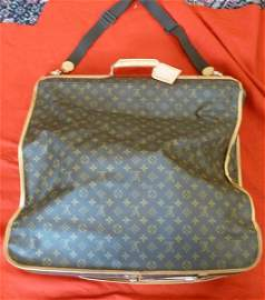 1: AUTHENTIC LOUIS VUITTON GARMENT BAG