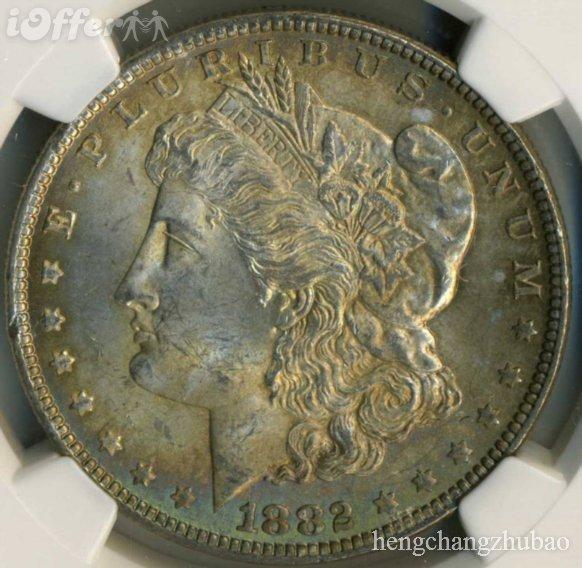 9: 1878 CARSON CITY MORGAN SILVER DOLLAR