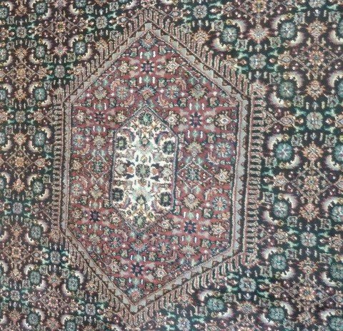 3: 1940'S  HAND TIED PERSIAN RUG