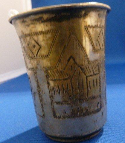 321: RUSSIAN STERLING KIDDUSH CUP