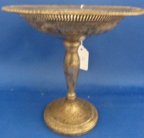 3: STERLING WEIGHTED RETICULATED COMPOTE