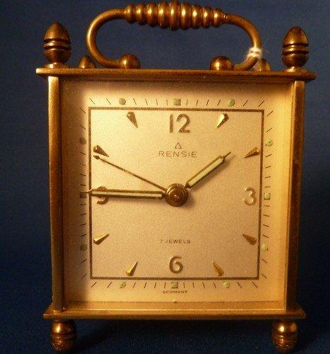 11: VINTAGE GERMAN CARRIAGE CLOCK