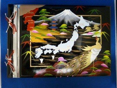 18B: KOREAN SCRAP/PHOTO ALBUM MUSICAL BOX