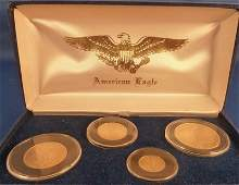 362: ST. GAUDENS US GOLD COMMEMORATIVE SET