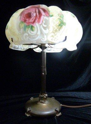 """400: ORIGINAL PAIRPOINT """"PUFFY""""  LAMP"""