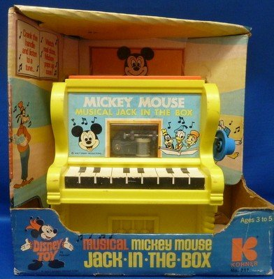 12: 1960'S ORIGINAL MICKEY MOUSE PLAYER PIANO