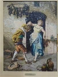 "100: ""LOTTA DISUGUALE"" GIUSEPPE GUZZARDI 1845-1914"