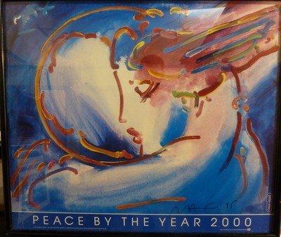 "22: PETER MAX ""PEACE"""