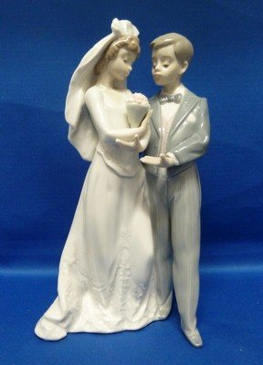 """2: LLADRO """" FROM THIS DAY FORWARD"""" #5885"""