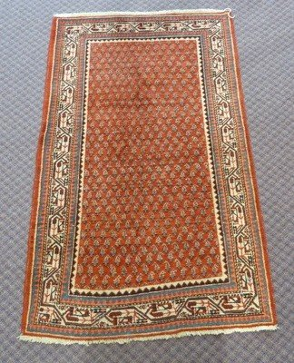 11A: VINTAGE PERSIAN HAND WOVEN RUG