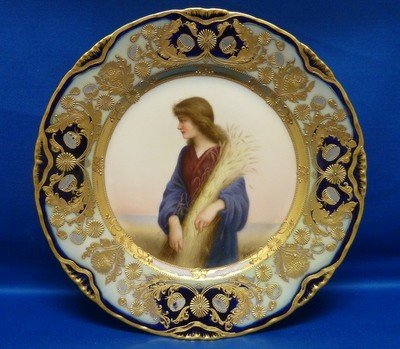 116: WAGNER ROYAL VIENNA ANTIQUE PLATE