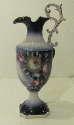 2: Hand Painted Porcelain Pitcher