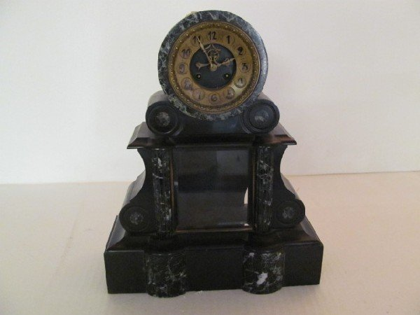 14: Marble Base Clock