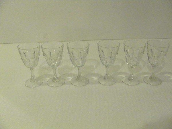 17: Set of 6 Wine Glasses