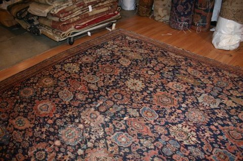 31: Antique Ziegler Rug