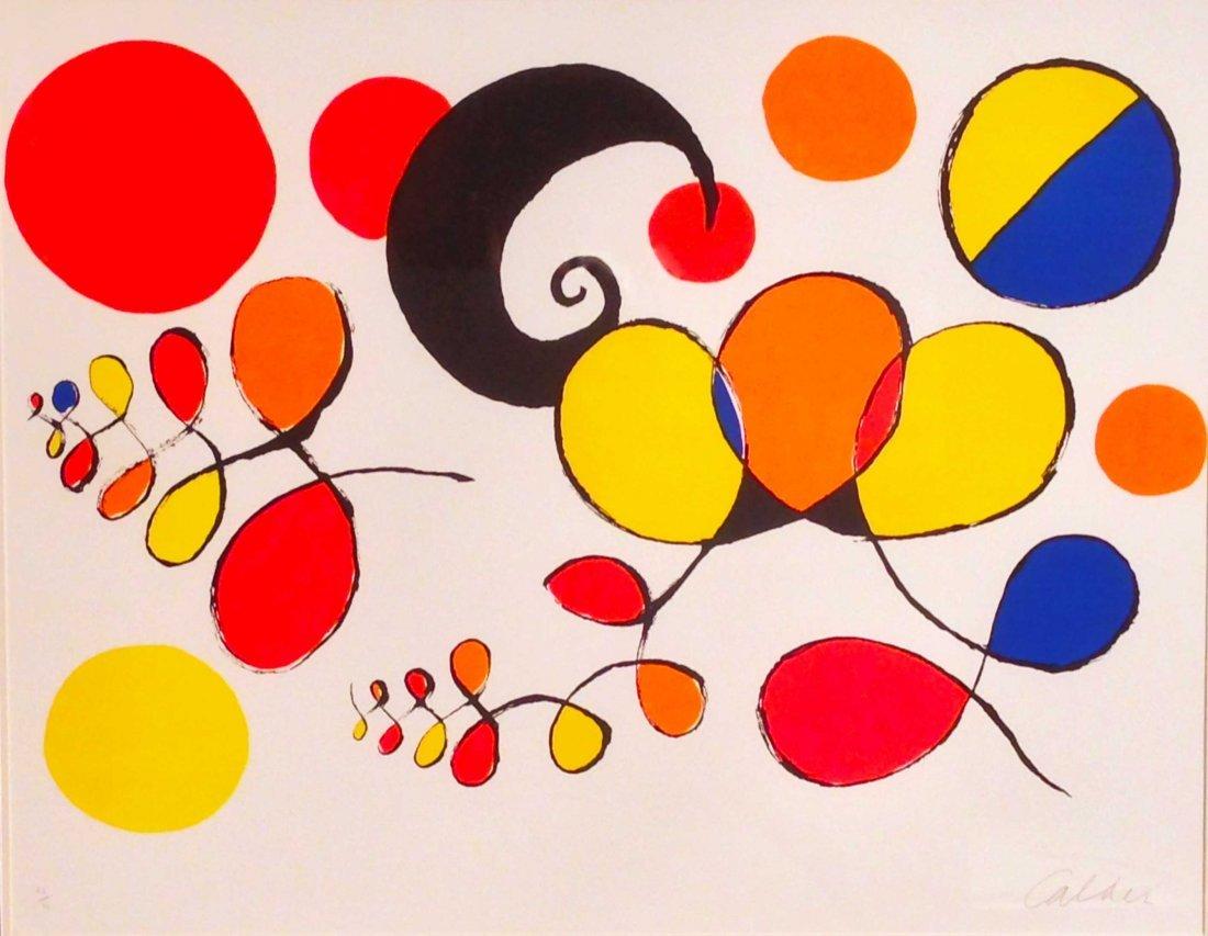 Alexander Calder, Boules et Spirales de Couleurs