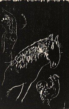 Marc Chagall (1887-1985), L'Ecuyere et le Coq