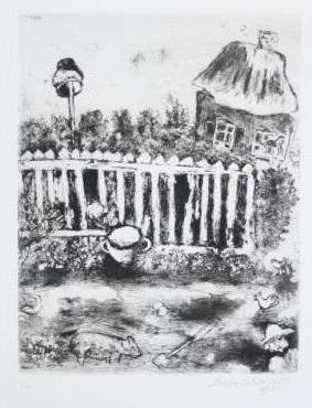 Marc Chagall (1887-1985), Les Fables de la Fontaine