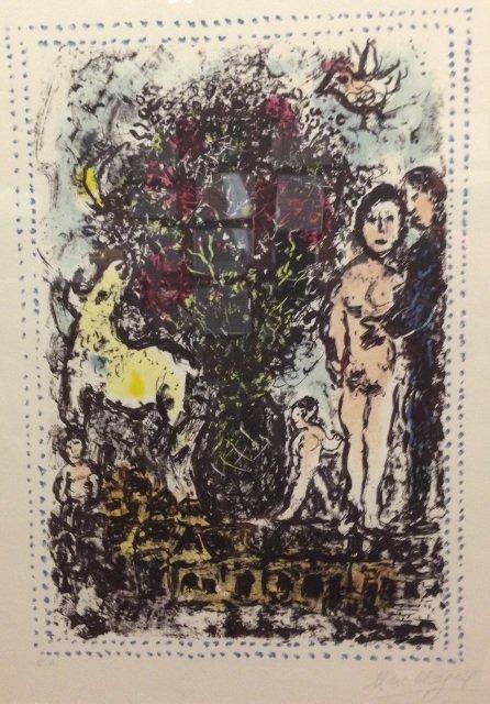 Marc Chagall (1887-1985), Evocation