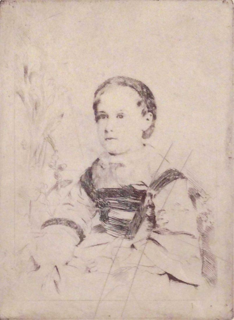 Degas, Edgar - Mlle Nathalie Wolkonska