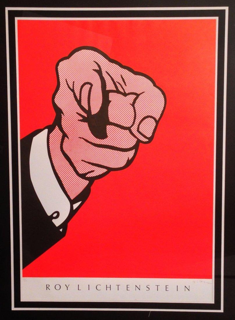 Roy Lichtenstein, Finger Pointing