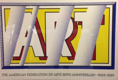 Roy Lichtenstein, Art Poster