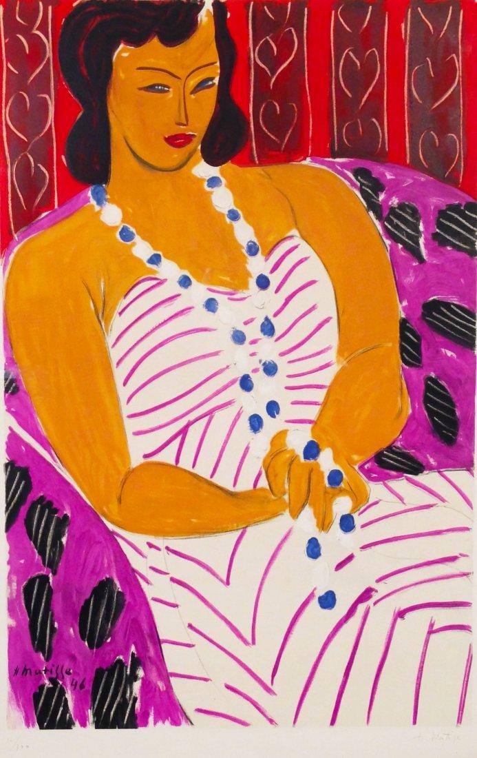 Henri Matisse (1869-1954), Femme a la Robe Blanche