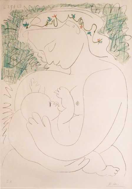 Pablo Picasso, Grande Maternite