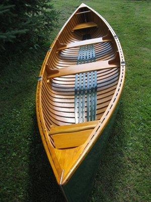 9: 16 Feet 1931 Old Town Canoe