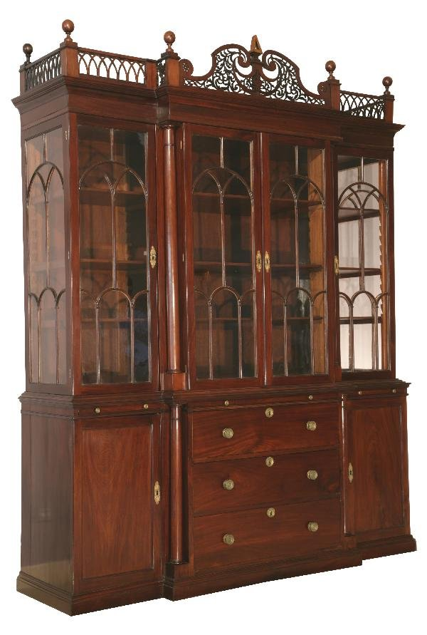 3: Yew Display cabinet