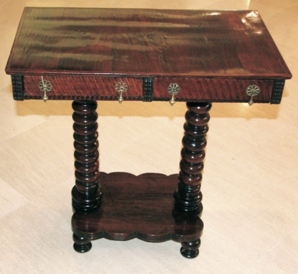 4: Rosewood ocasional table