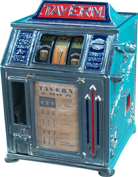 "1: 1 Cent ""Tavern"" 3-Reel Trade Stimulator"
