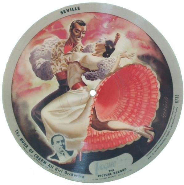 "8: Vogue ""The Picture Record"" 78 RPM - 10"" Diam."
