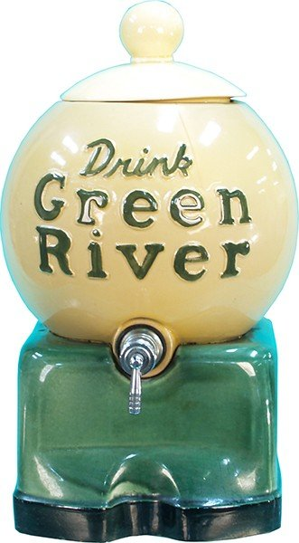 251: Drink Green River Countertop Syrup Dispenser