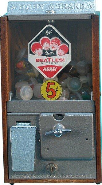 "254: 5 Cent ""Baby Grand"" Vending Machine"