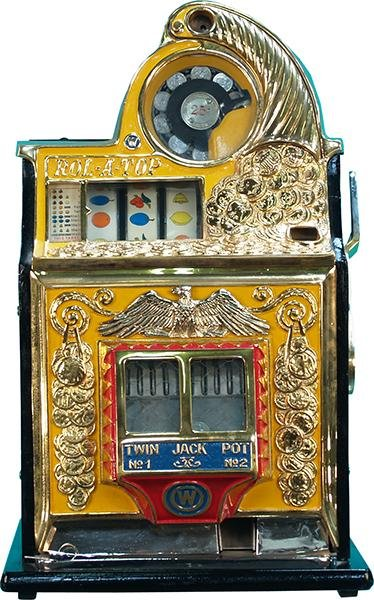 266: 25 Cent Watling Rol-A-Top Twin Jackpot Slot Machin