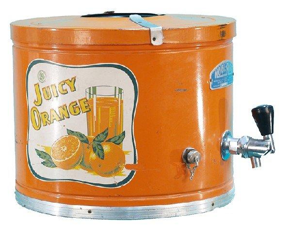 418: Juicy Orange Countertop Juice Dispenser