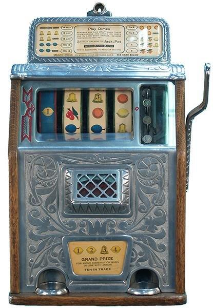 430: 10 Cent Caille Superior Grand Prize Slot Machine c