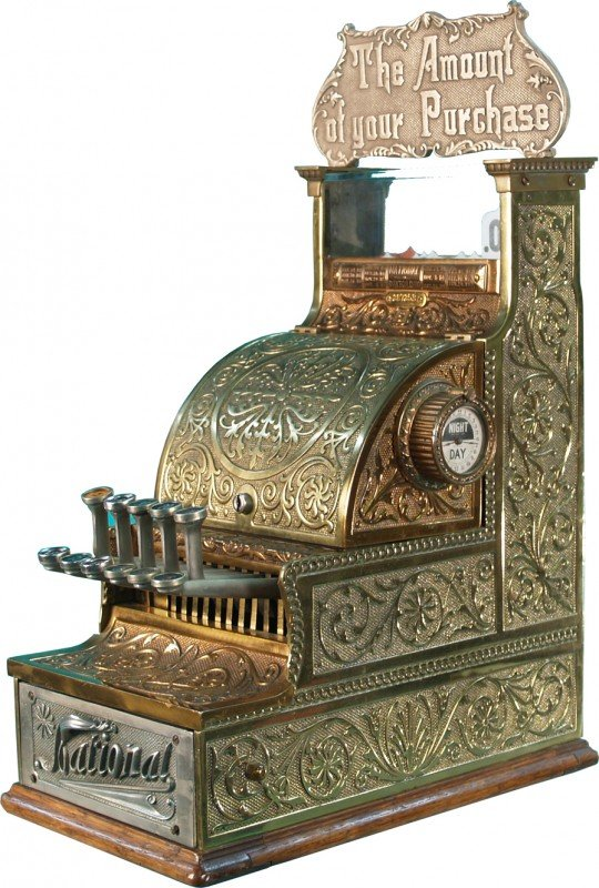 7: National Cash Register Model No. 5 Serial No. 287253