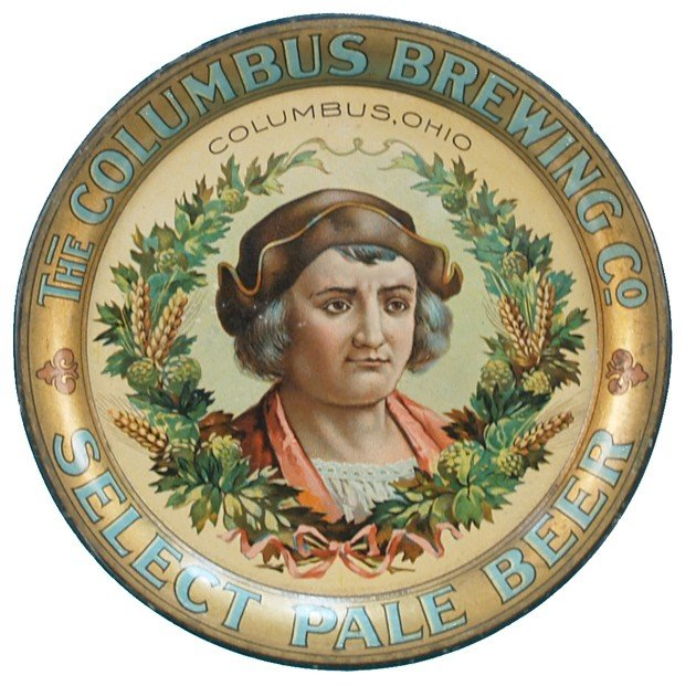 14: The Columbus Brewing Co. Columbus, OHIO Tin Tip Tra