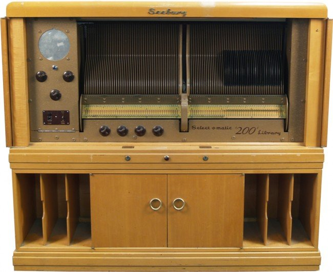 200: Vintage Seeburg Select-O-Matic '200' Library Unit