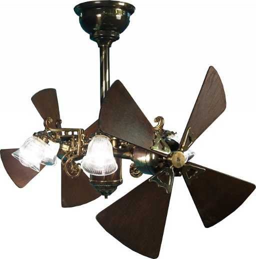 Extremely Large Ceiling Fan: 250: Large Very Ornate Gyro Ceiling Fan