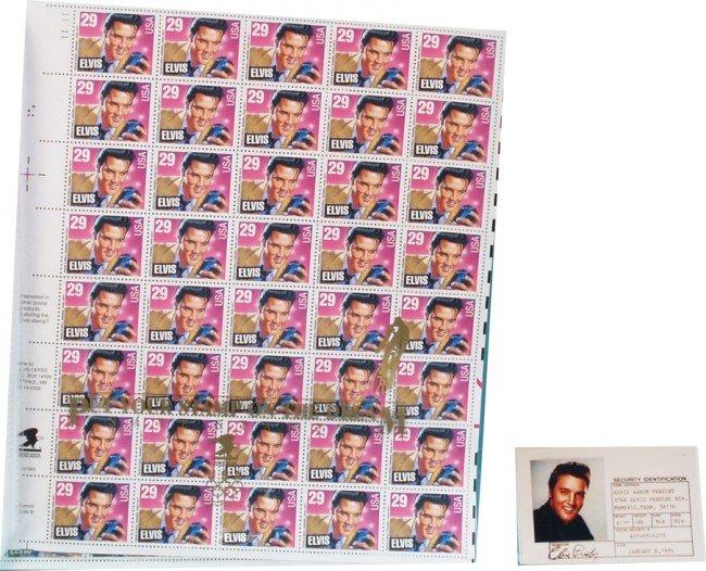 502: Lot Of Elvis Presley Items:
