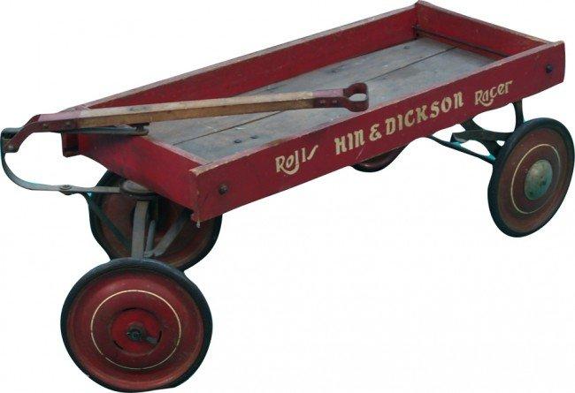 "514: Early Wood & Cast-Iron Hin & Dickson ""Rolls Racer"""