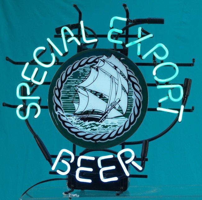 517: Special Export Beer Neon Sign