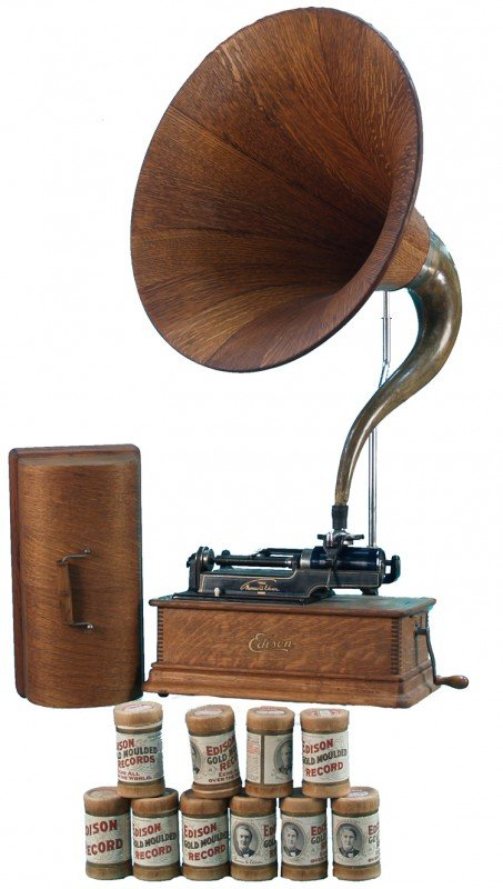 649: Countertop Edison Home Phonograph