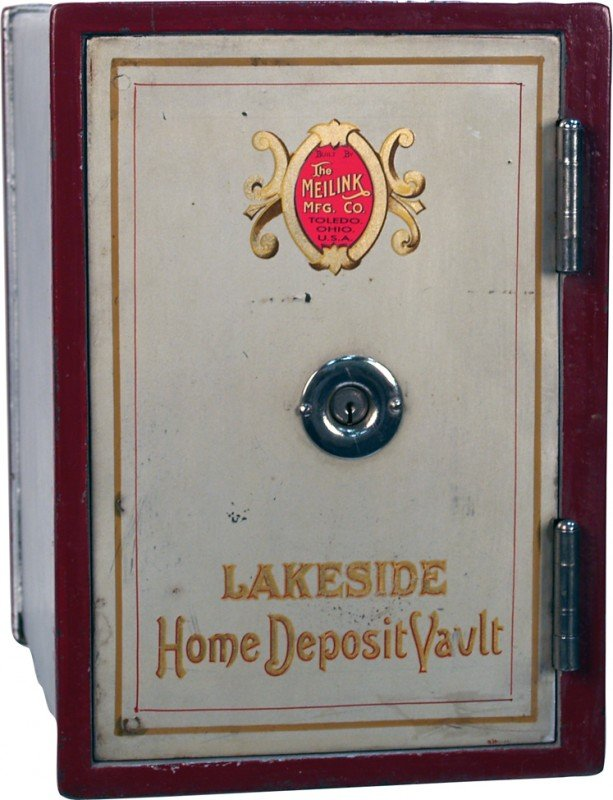 669: Meilink MFG. Co. Small Home Deposit Vault Safe