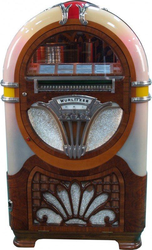 673: Coin-Op Wurlitzer 750-E c1941 Jukebox
